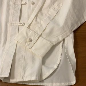 J. Jill Tops - White bottom down blouse